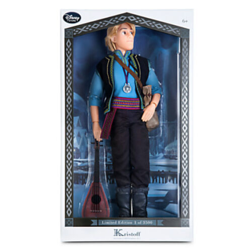 Original Disney Kristoff  Puppe in limitierter Edition Eiskönigin Frozen Doll