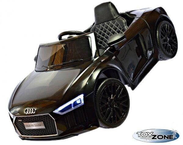 Kinderfahrzeug 12V Kinder Elektro Kinderauto Audi R8 Spyder EVA Räder Ledersitz