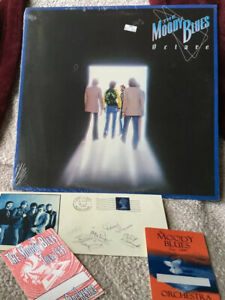 THE MOODY BLUES VINYL octave LP SEALED plus MERCH The Day We Meet Again SLIDE ZN