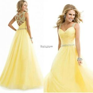 Yelow Party Dresses eBay