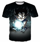 New Fashion Womens/Mens Black Kid Goku Funny 3D Print Casual T-Shirt UBB257
