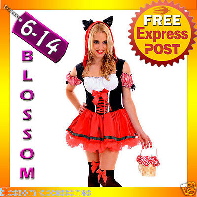 Little Red Riding Hood Wolf Storybook Fancy Dress Halloween Costume Outfit