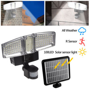 Spotlights Lights & Lighting Frank New 22 Led Dual Security Detector Solar Spot Light Motion Sensor Outdoor Floodlight