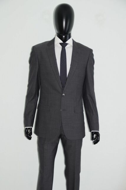 large discount wholesale super cheap HUGO BOSS TAILORED ANZUG, Mod.T-Harvers/Glover, Gr. 98, Slim Fit, Woven in  Italy