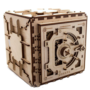 Safe with 3 digit mechanical code lock