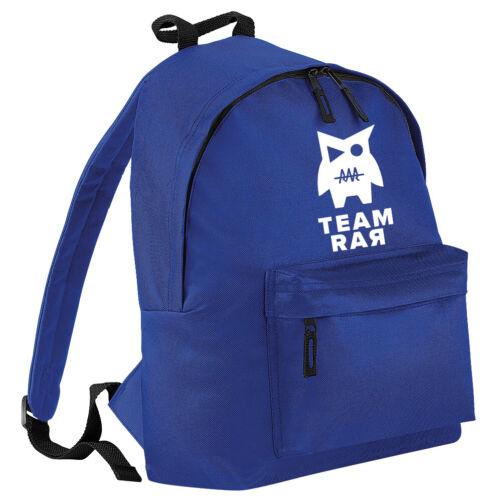 RAR Share TEAM Youtuber The Love Boys Girls Backpack Kid/'s School Bag