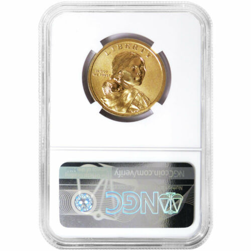 2019-P $1 Mary Ross Coin and Currency NGC SP70 FDI Randy Teton Label with OGP