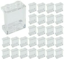 Lego 1x2x2 Window Frame White with Clear Glass Lot of 2 New