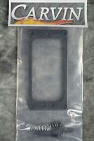 Carvin Kiesel Uncovered Humbucker Pickup Ring Black Guitar Part Dc Ct Cs Sc