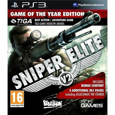 Sniper Elite V2: Game of the Year for Sony PlayStation 3