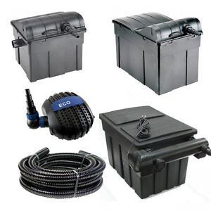 Jebao Ubf Koi Pond Fish Filter Box Uv Steriliser System