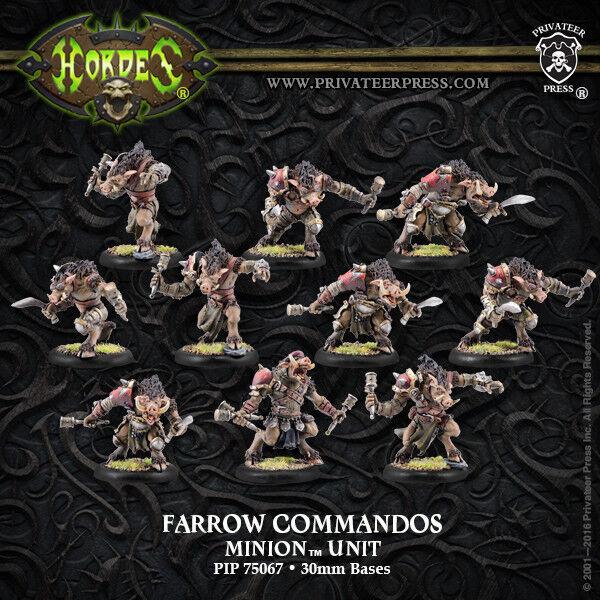 Hordes  Minions  Farrow Brigands   Farrow Commandos (PIP75067) NEW