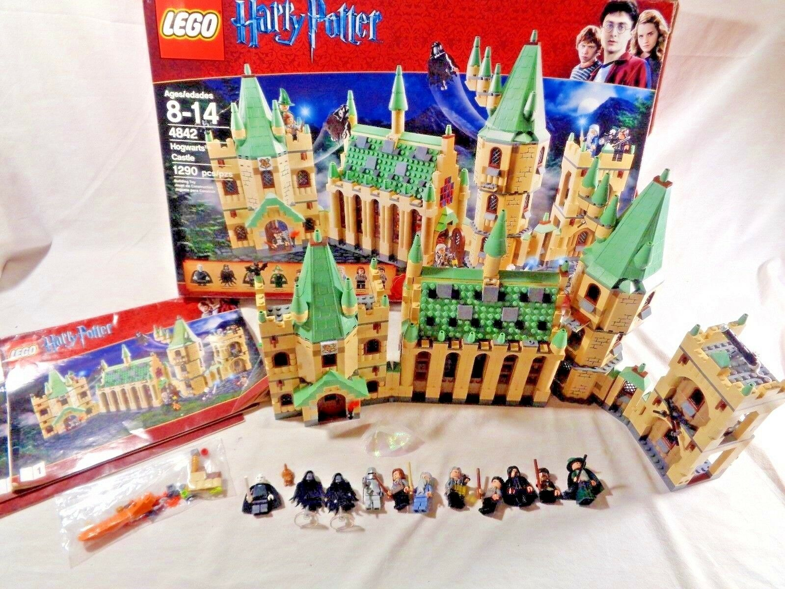 LEGO Harry Potter Set  HOGWARTS CASTLE   4842 Complete w/ Instructions & Box