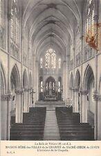 BF8067 l interieur de la chapelle la salle de vihiers france      France