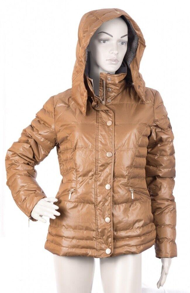 Señora chaqueta Siena cavallino marino Camel nuevo