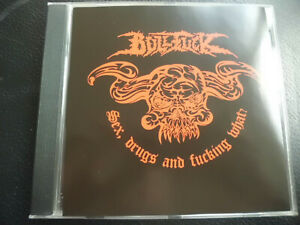 Bullfuck-sex-drugs-and-Fucking-what-CD-death-metal-Self-released-RARE
