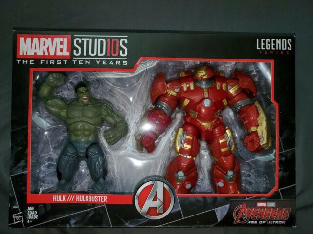 Marvel Studios Legend Series Hulk/Hulkbuster Set-Avengers The First Ten Years