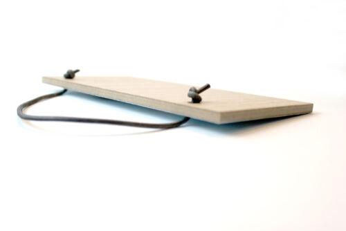 #807 Méfiez-vous du Elvis Fan placage chêne qualité en bois Plaque Porte Cintre Signe