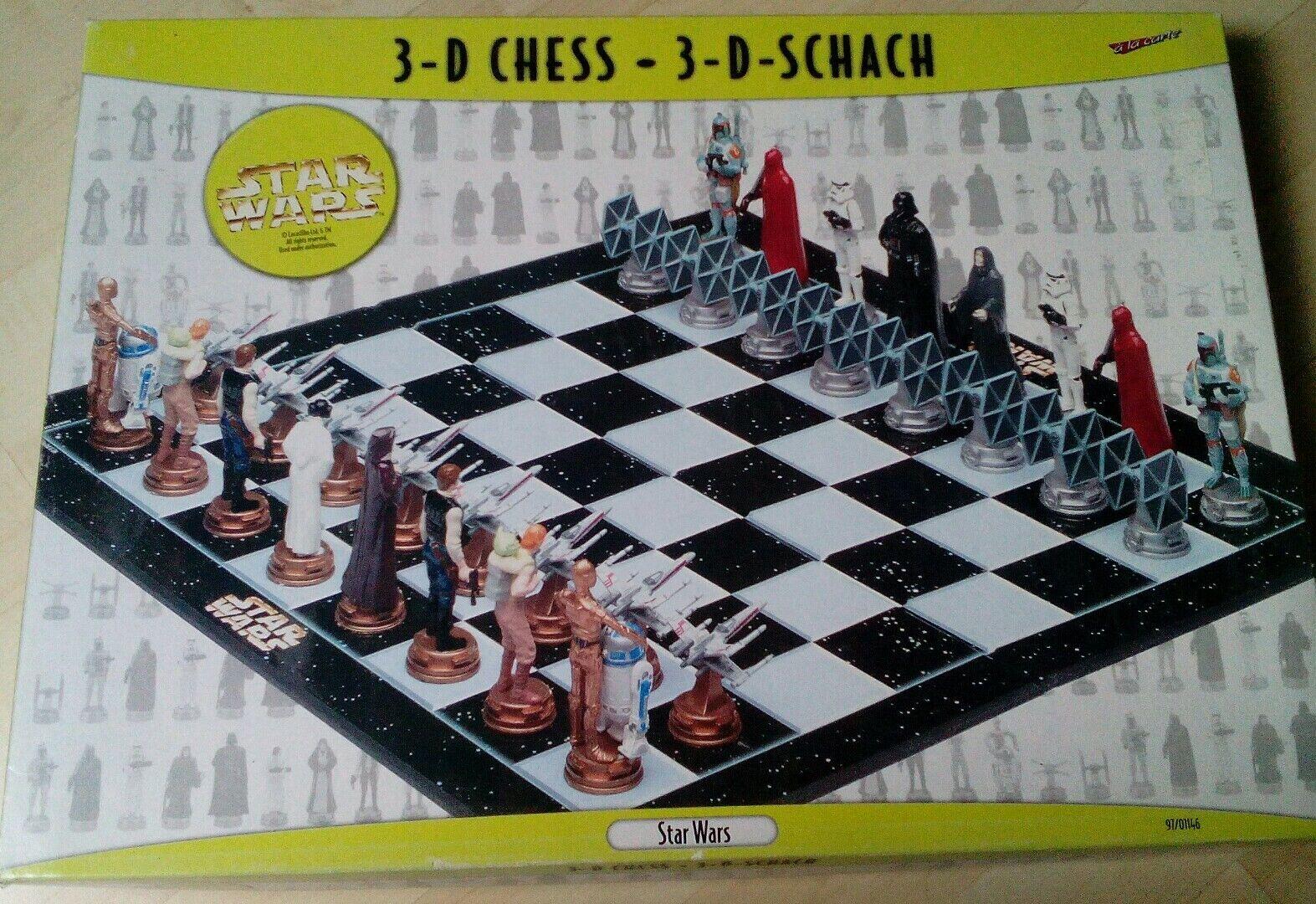 spare Parts STAR WARS Schach 3D Chess X-WING gegen TIE FIGHTER Ersatz-Figuren