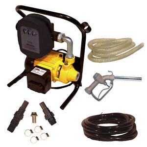 Dieselpumpe-Heizoelpumpe-Pumpe-600W-mit-Alu-Zapfpistole-Zaehlwerk-Schlauch-02