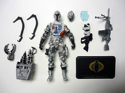 GI JOE ARCTIC BAT 50th Anniversary Action Figure Cobra COMPLETE 3 3/4 C9+ 2014