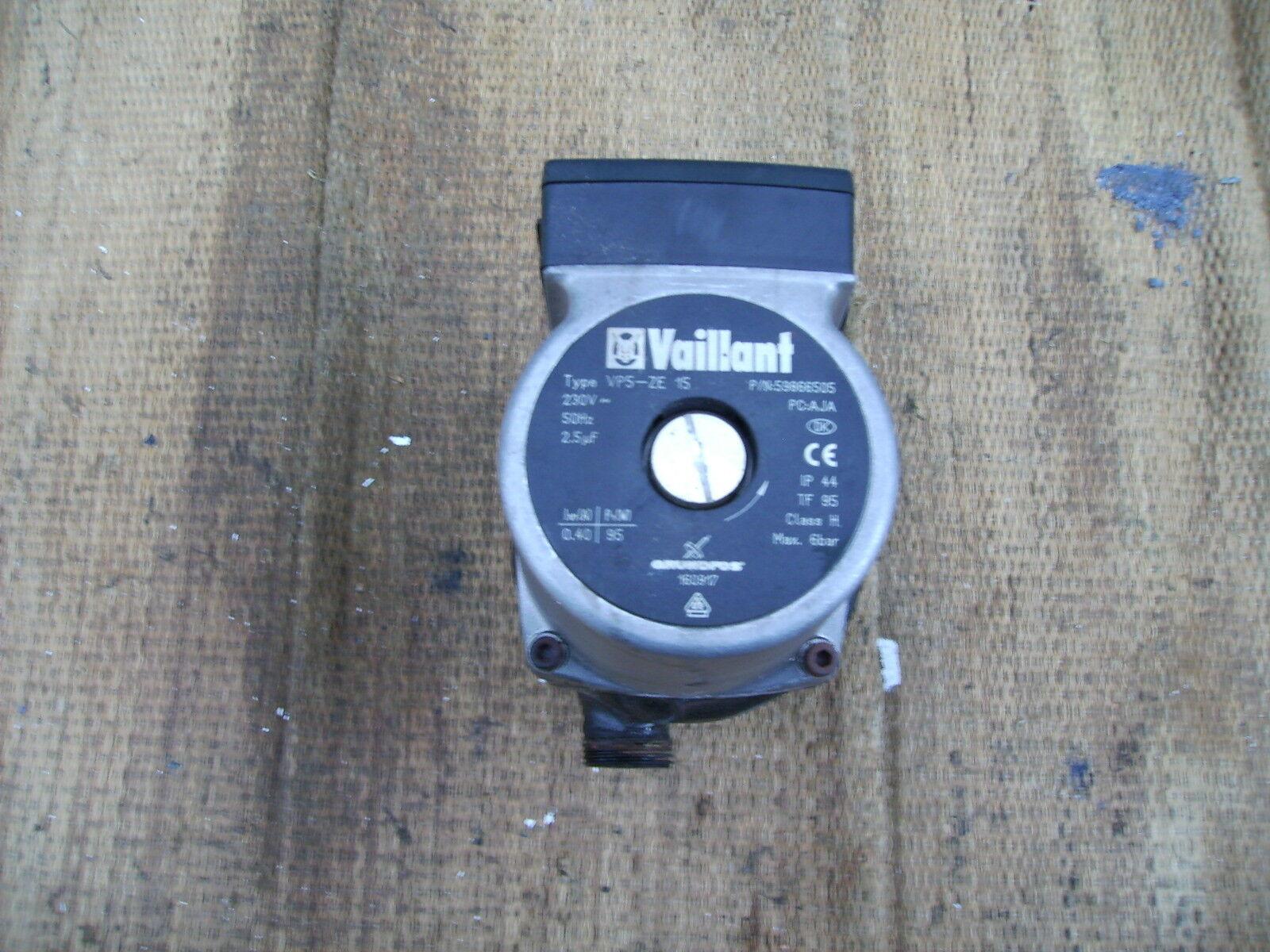 Grundfos 160917 Umwälzpumpe Heizungspumpe Vaillant Klassik Brennwert VC 246