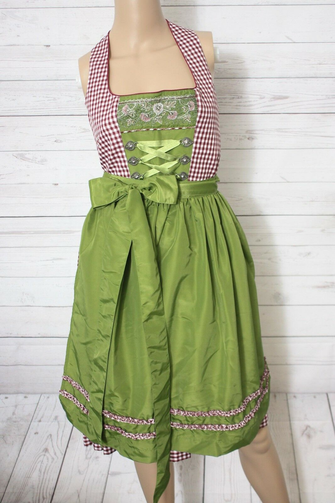 Ludwig&Therese DaMänner Dirndl, Beatrice beere, Gr. 40