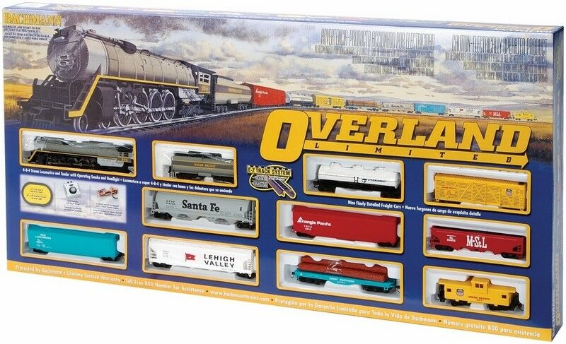 Bachmann BAC00614 Set, Overland Limited