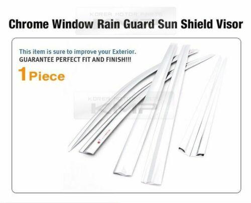 Chrome Window Sun Vent Visor Rain Guards 6P C584 For KIA 2015-18 Sedona Carnival
