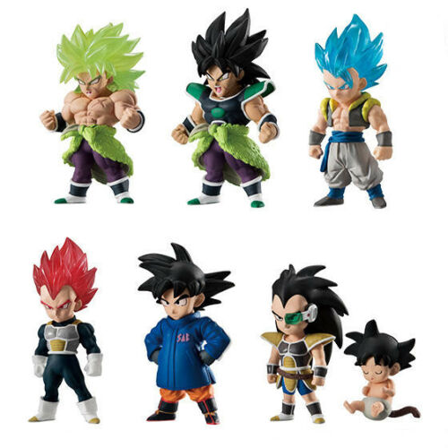 Dragon Ball Adverge 9 Movie Special Broly Anger Character Candy Toy Mini Figure