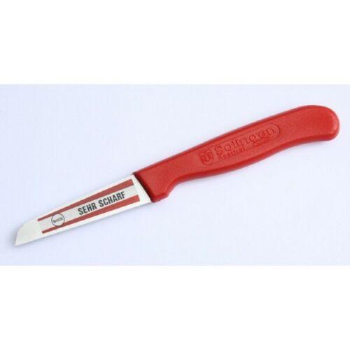 Küchenmesser RÖR Made in Solingen ROT,Schälmesser 6cm Klinge richtig scharf