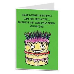 Image Is Loading Funny 70th Birthday Card For Men Amp Women