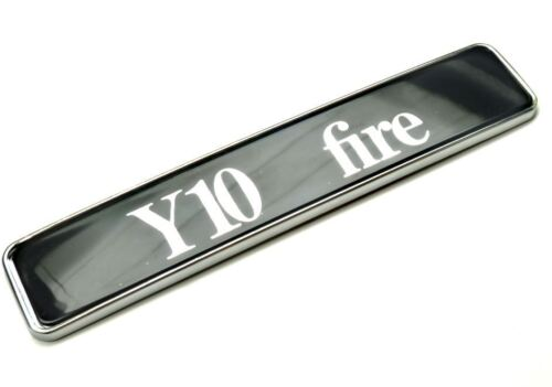 Lancia Y10 Fire Tailgate Badge 7568389 Brand New Official Original Genuine