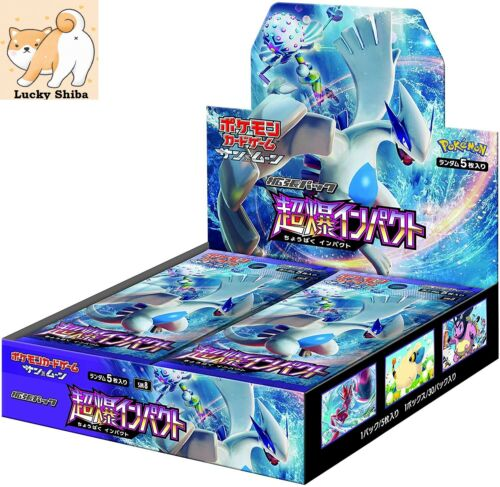USA Seller Pokemon Card Super Burst Impact Box Booster Box Sealed Sun /& Moon