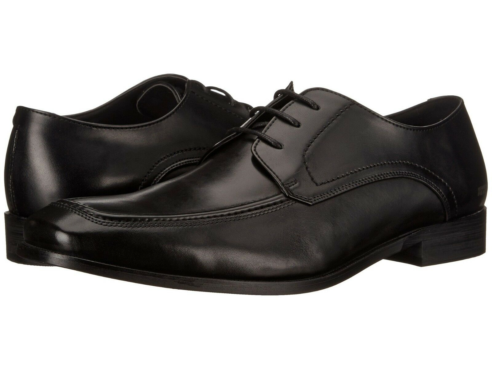Kenneth Cole Mens Truth-Ful Lace Up Apron Toe Derby Business Casual Dress shoes
