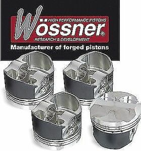 PISTONI-WOSSNER-FIAT-PUNTO-UNO-TURBO-93-99-K9048-ENGINE-176A-PISTON-WOESSNER