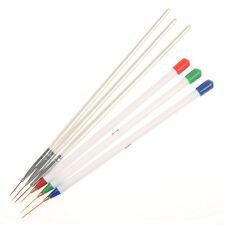 6Pcs/set Nail Art Brush Ongle Liner Drawing Line Pen Painting Manicure DIY