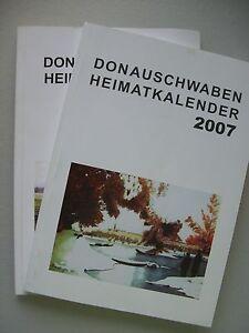 2 Bücher Donauschwaben Heimatkalender 2006 2007 Kalender - Eggenstein-Leopoldshafen, Deutschland - 2 Bücher Donauschwaben Heimatkalender 2006 2007 Kalender - Eggenstein-Leopoldshafen, Deutschland