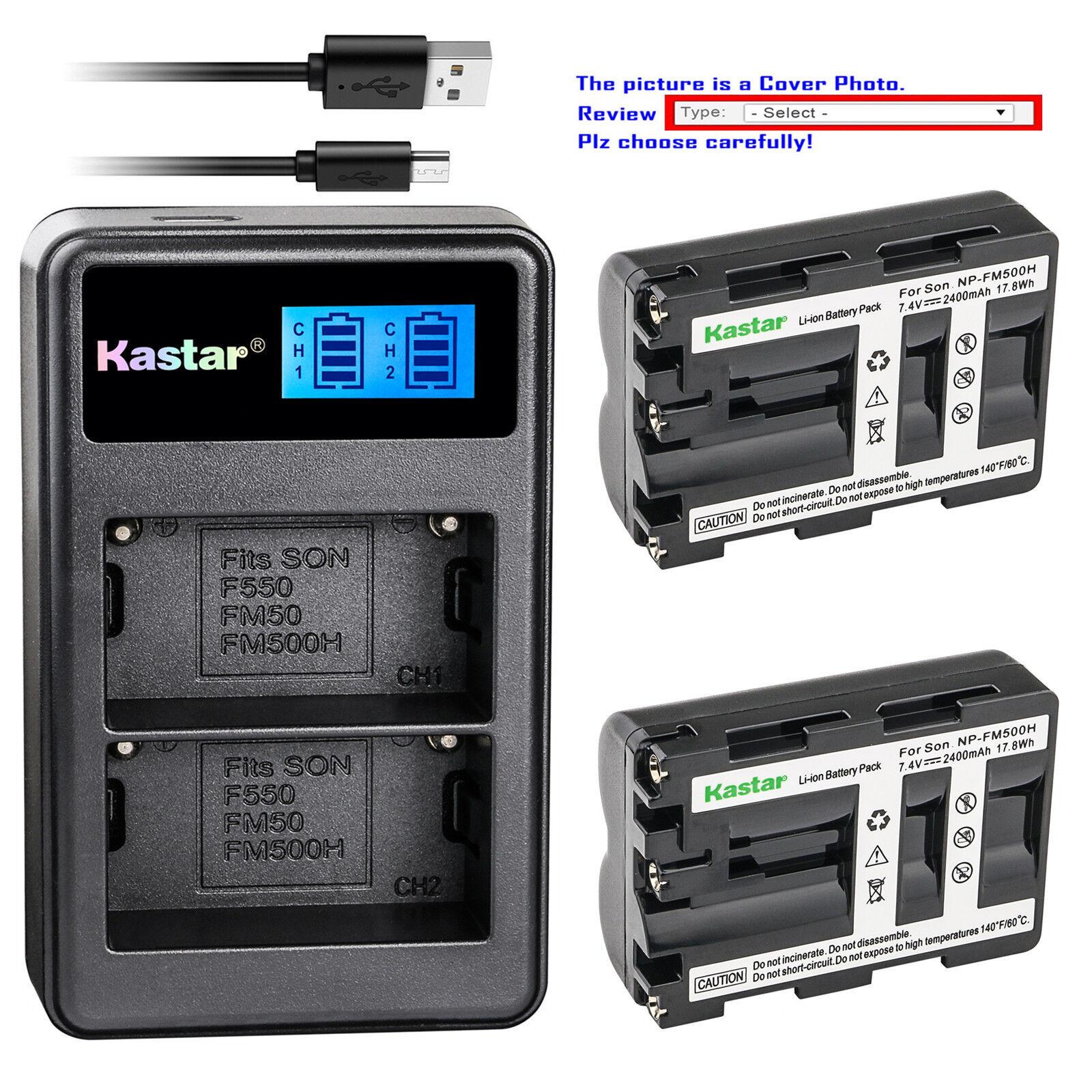 Akku Li-Ion Typ NP-FM500H für Sony DSLR-A700 A900
