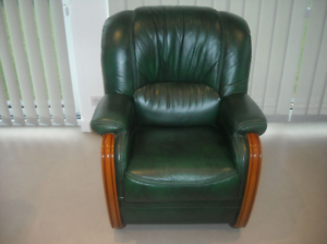 Fauteuil cuir occasion