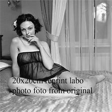 NU NUDE PHOTO FOTO 20X20CM REPRINT FROM ORIGINAL NEG NATURELLE BEAUTE NEW17