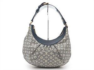 Louis-Vuitton-Auth-Monogram-Idylle-Encre-Rhapsodie-PM-Shoulder-Hand-Bag-Purse-LV