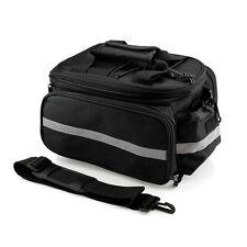 Outdoor Bike Bicycle Cycling Pannier Strap-On Bag Rear Rack Seat Handbag Bags
