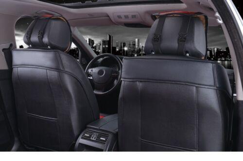 Lancia Jeep BMW Coprisedili Grigio Similpelle Trapuntati 1+1 Coppia Fodere