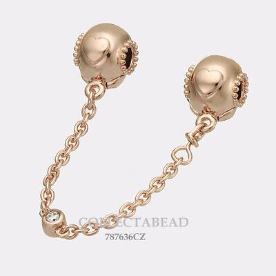 pandora essence rose gold heart charm
