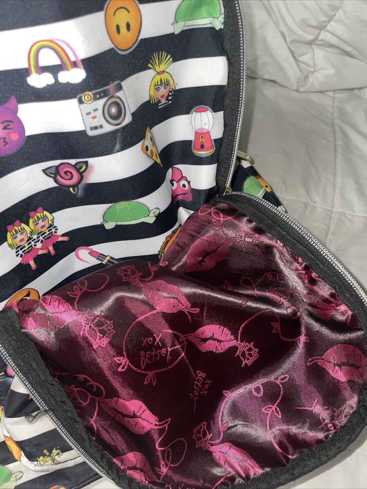 Beautiful Betsey Johnson Rocknroll Backpack - image 7