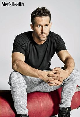 RYAN REYNOLDS Poster A WALL DECORATION WALLPAPER PRINT Multiple Sizes