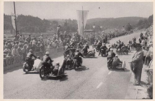 500 ccm Seitenwagen orig SOLITUDE Motorrad-Rennen Stuttgart Sammelbild