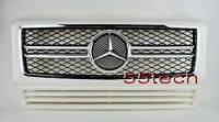 Mercedes Class W463 Grille Grill G500 G55 9008 Amg White G63 A2 D27