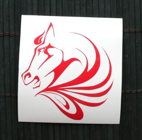 adesivo cavallo auto moto scooter wall sticker decal vynil vinile horse fattoria